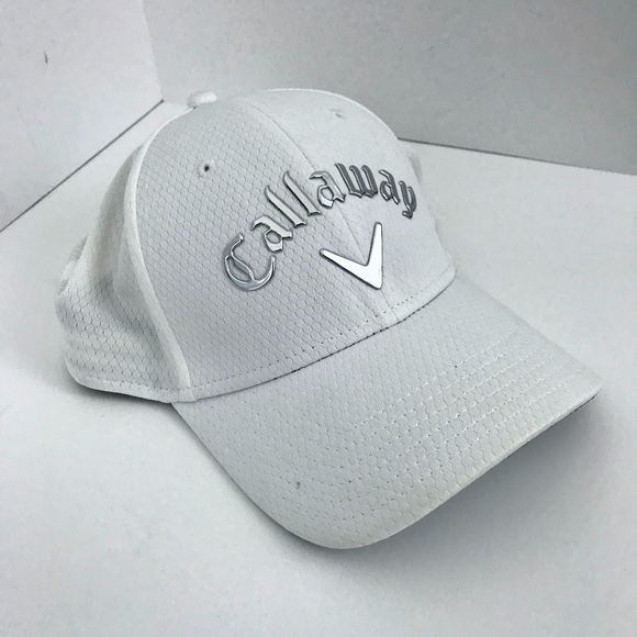 6bc0085ff7c Callaway Other - Callaway Men s Liquid Metal Golf Hat White Silver